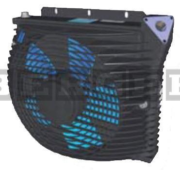 Kran Ölkühler FBS-1P Öldurchlauf bis 80l-min