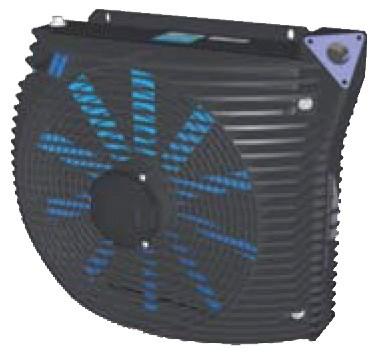 Kran Ölkühler FBS-2S Öldurchlauf bis 180l-min